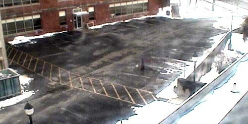Parking near an industrial plant -  live webcam , Pennsylvania Lock Haven