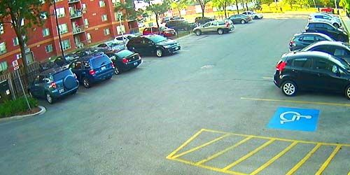 Parking in the city center -  live webcam , Ontario Ottawa