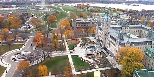 Quebec Parliament Building -  live webcam , Province of Quebec Quebec