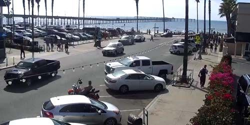 Muelle de la playa del océano -  Webcam , California San Diego