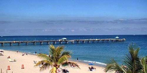 Anglin's Fishing Pier -  live webcam , Florida Fort Lauderdale