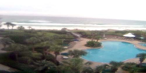 Pool at the hotel on the coast -  live webcam , Alabama Mobile