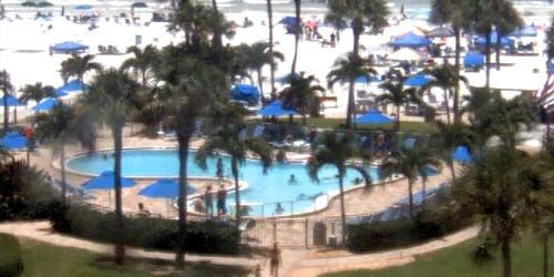 Pool in one of the hotels -  live webcam , Florida Sarasota
