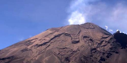 Popocatepetl volcano -  live webcam , Federal District Mexico City