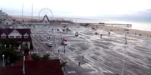 PTZ camera on the coast -  live webcam , Maryland Ocean City