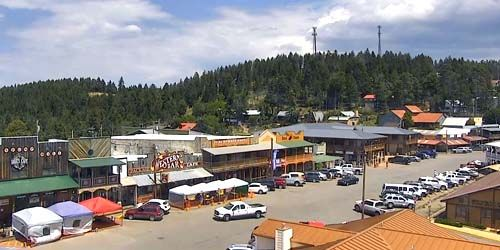 Panoramic PTZ camera -  live webcam , New Mexico Cloudcroft