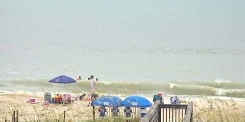 Carolina Beach - relajación sobre las olas -  Webcam , North Carolina Wilmington