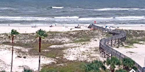 Gulf Highlands The Beach Club Resort & Spa -  live webcam , Alabama Mobile