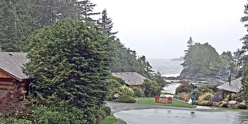 Crystal Cove Beach Resort -  live webcam , British Columbia Tofino