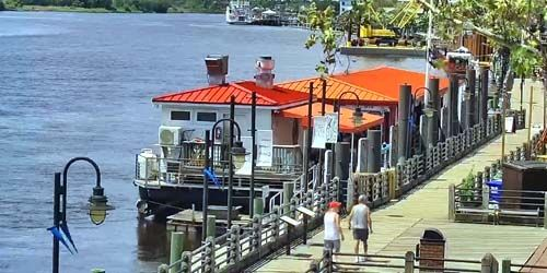 Wilmington Riverwalk -  Webcam , North Carolina Wilmington