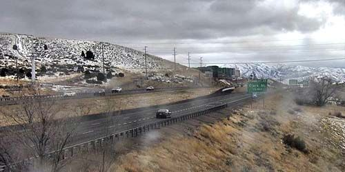 Road to the mountains -  live webcam , Idaho Pocatello