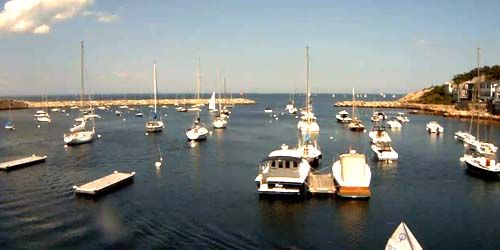 Puerto de Rockport -  Webcam , Maine Portland