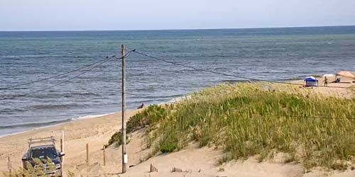 Beach in the town of Rodanthe on Hatteras Island -  live webcam , North Carolina Jacksonville
