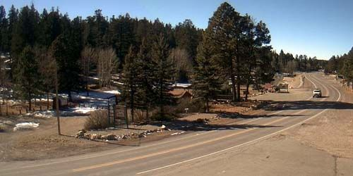 U.S. Route 82 in New Mexico -  live webcam , New Mexico Cloudcroft