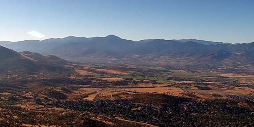 panorama de montaña con Roxy Ann Peak -  Webcam , Oregon Medford