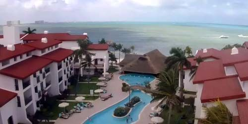 El territorio del hotel Royal Cancún -  Webcam , Quintana Roo Cancún