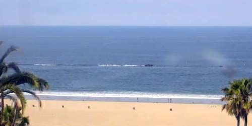 Santa Monica Beach -  live webcam , California Los Angeles