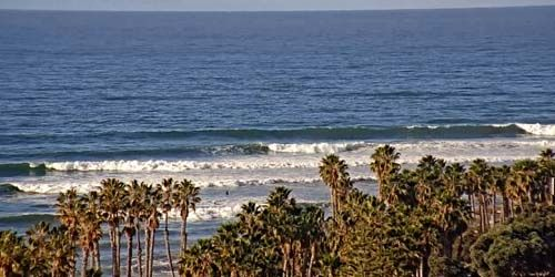 Surfers Point at Seaside Park -  live webcam , California Ventura