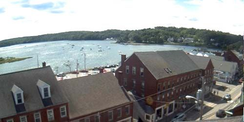 La costa de Maine de Sherman -  Webcam , Maine Portland