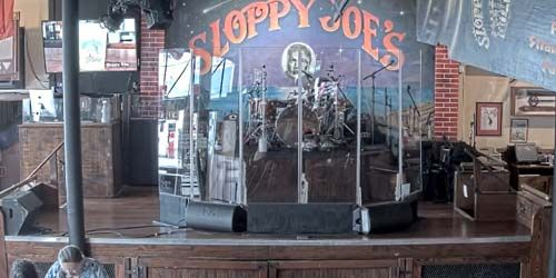 Scène du bar de Sloppy Joe -  Webсam , Florida Key West