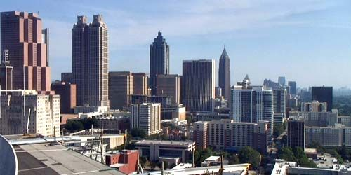 View of skyscrapers -  live webcam , Georgia Atlanta