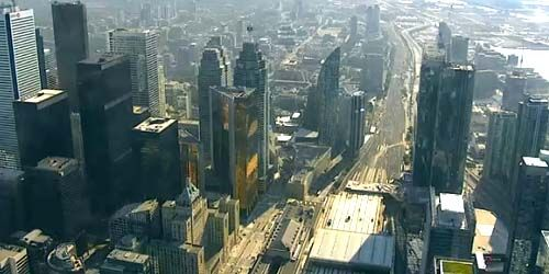 Business center, view of skyscrapers, downtown -  live webcam , Ontario Toronto