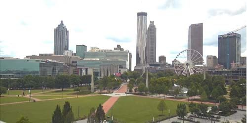 Centennial Olympic Park, SkyView Atlanta -  live webcam , Georgia Atlanta