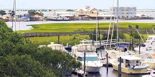 Southport Marina -  Webcam , North Carolina Wilmington