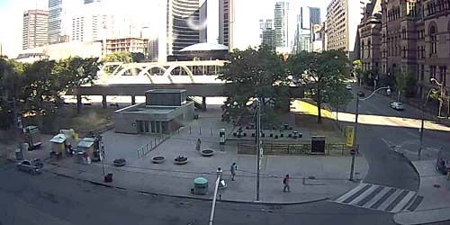 Nathan Phillips Square -  live webcam , Ontario Toronto