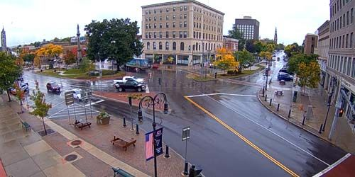 Plaza publica -  Webcam , Nueva York Watertown