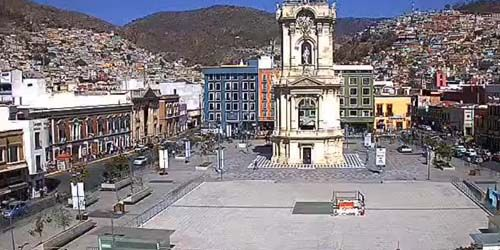 Independence Square -  live webcam , Hidalgo Pachuca
