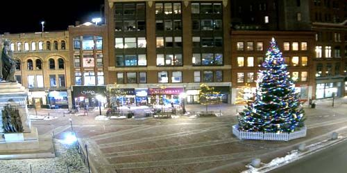 Plaza del monumento -  Webcam , Maine Portland