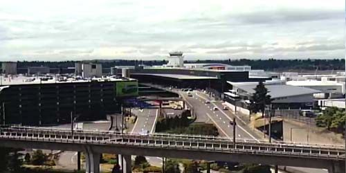 Seattle International Airport - Tacoma -  live webcam , Washington Seattle