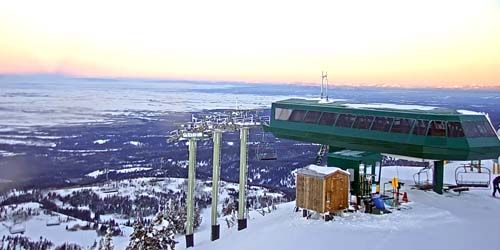 Grand Targhee Resort - panorama du haut -  Webсam , Wyoming Jackson