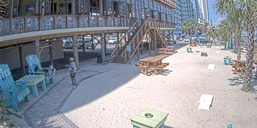 Terrace at the hotel on the coast -  live webcam , South Carolina Myrtle Beach