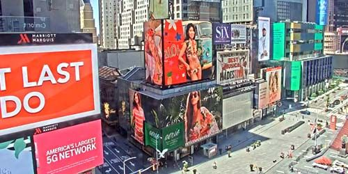 Times Square - Central Manhattan Square -  Webcam , Nueva York New York
