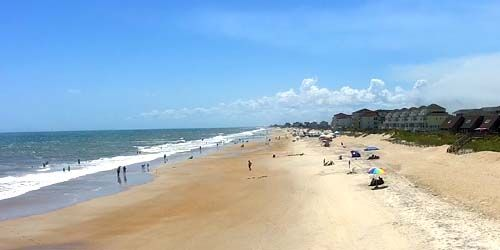 North Topsail Beach -  live webcam , North Carolina Jacksonville
