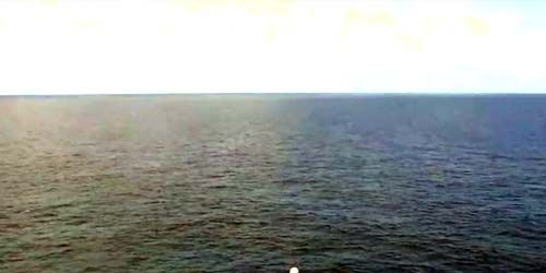 Atlantic Ocean towards the Barmud Triangle -  live webcam , North Carolina Wilmington