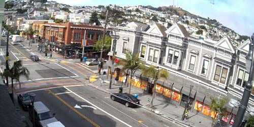Castro Street, Twin Peaks View -  live webcam , California San Francisco