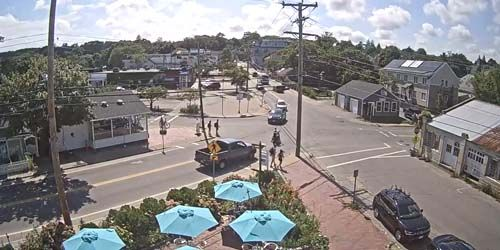 trafic dans les rues de Martha's Vineyard -  Webсam , Massachusetts New Bedford