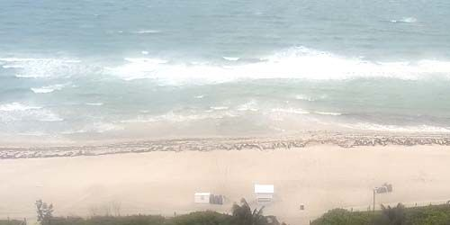 Miami Beach from the waterfront - live webcam, Florida Miami