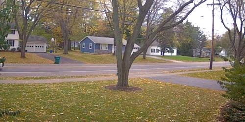 Weather in suburb Webster -  live webcam , New York Rochester
