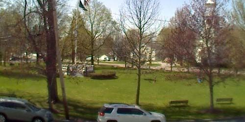 Square in downtown Westford -  live webcam , Massachusetts Boston