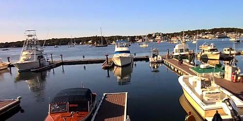 Marina de Brown's Wharf Inn -  Webcam , Maine Portland