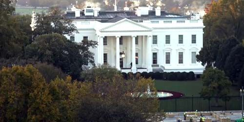 White House -  live webcam , District of Columbia Washington