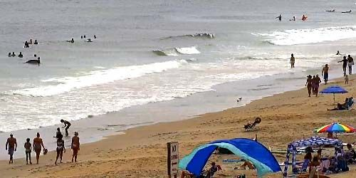 Windsurf en la playa de Wrightsville -  Webcam , North Carolina Wilmington