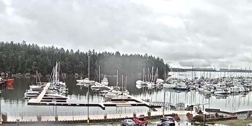 Berth with yachts and boats -  live webcam , British Columbia Nanaimo